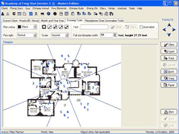 Feng Shui floor plan software