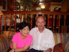 Michael and Lillian Too at her home in Kuala Lumpur
