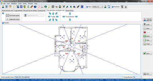 Feng Shui floor plan software