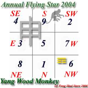 Annual Flying Star 2004