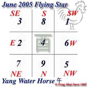 June 2005 Flying Stars
