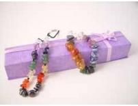 Chunky Chakra Necklace & bracelet