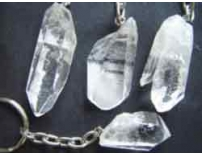 Sheng Ch'i empowered Clear quartz crystal keying.