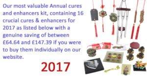 2017 Feng Shui Cures kit