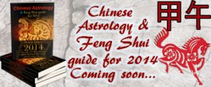 Chinese Astrology and Feng Shui guide for 2014