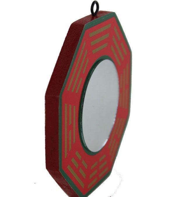 Ba Gua wealth protection mirror