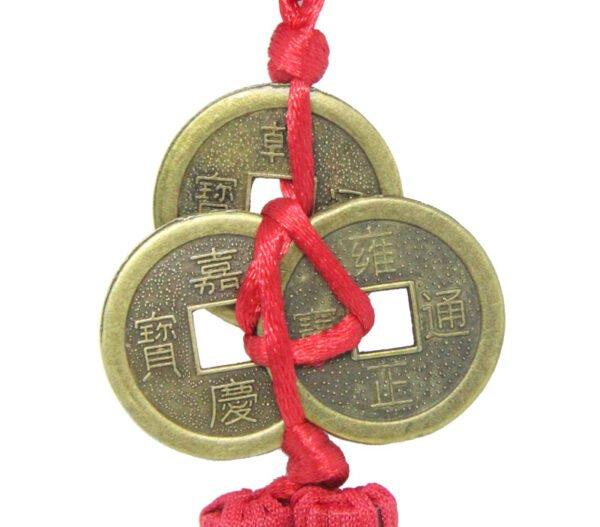 Wealth protection trinity talisman (San Bao)