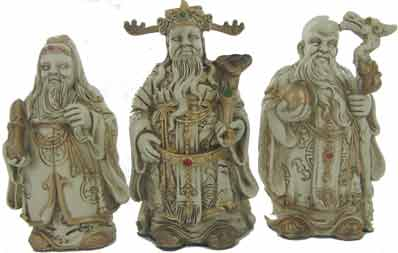 Three Immortals (Fuk, Luk & Sau)