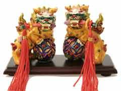 Temple Lions