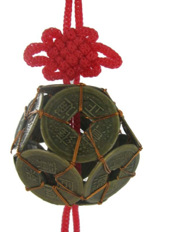 12 I-Ching Coin ball