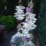 Hanging Crystal Cluster