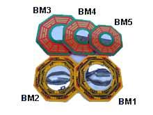 Ba Gua Mirrors 105mm (Concave) X5