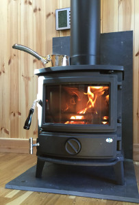 Feng Shui Store log burning stove
