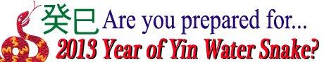 are you prepared for 2013