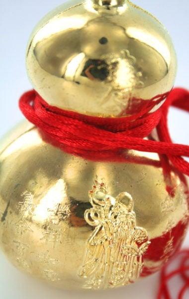 Wu Lou Xiu Hu protection amulet
