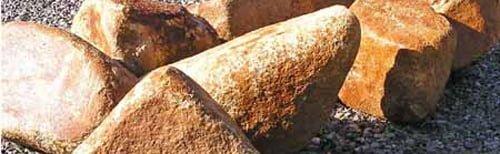 using boulders in feng shui