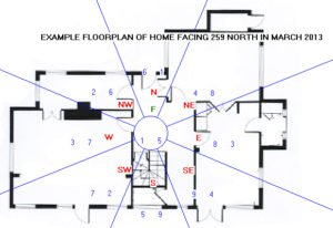 Flying Star Floorplan for March 2013