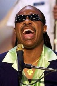Stevie Wonder Famous Tiger