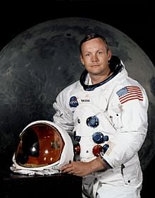 Neil Armstrong famous Horse