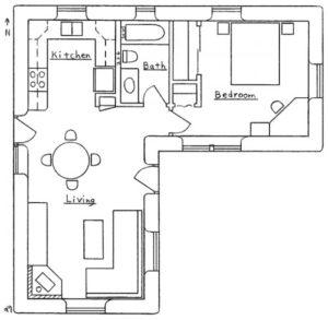 L Shaped Feng Shui Home