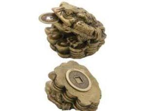 Three legged toad god