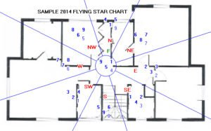Sample 2014 Flying Star Chart