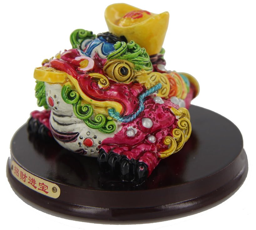 Cai Shen Ma (Wealth Toad God) Wealth enhancer and cure