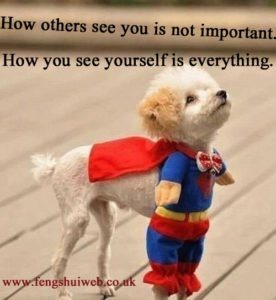 How others see you is not important. How you see yourself is everything.