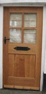 Feng Shui panelled door