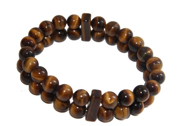 Tiger Eye double Power Bead