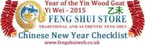 Chinese new year checklist 2015