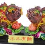 Shuang chong  li yu Double Carp