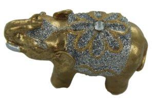 Jin se da xiang Jewelled golden elephant