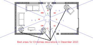Christmas tree placement for December 2015