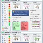 Tong Shu Almanac for Saturday 15th - Monday 17th November 2014