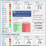 Tong Shu Almanac for Saturday 14th - Monday 16th March 2015