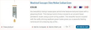 Woodstock Seascapes Wind Chime
