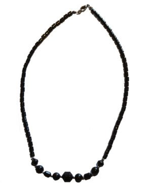 Hematite Crystal Necklace