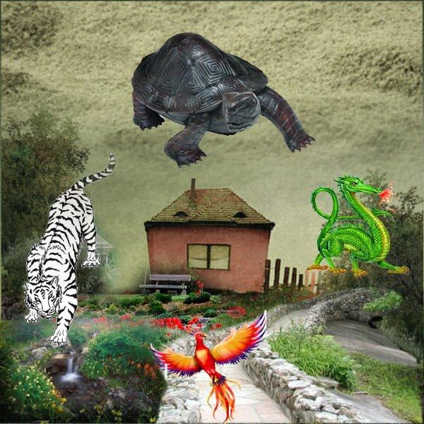 Feng Shui four celestial animals