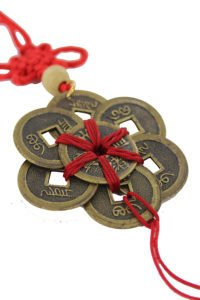 Ba Bao eight treasure coins in circle amulet