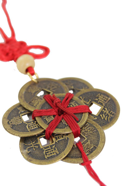 Ba Bao eight treasure coins in circle amulet 3