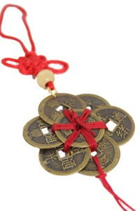 Ba Bao eight treasure coins in circle amulet 5