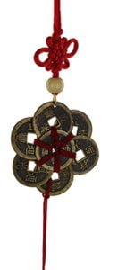 Ba Bao eight treasure coins in circle amulet