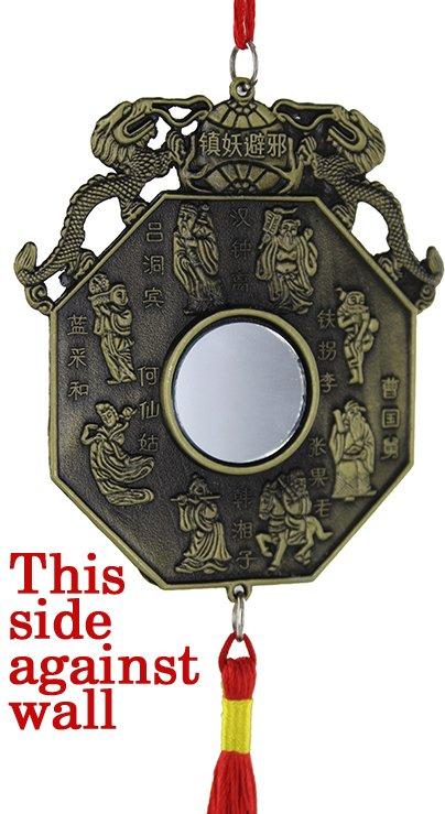 Ba xian Ba Gua protection talisman