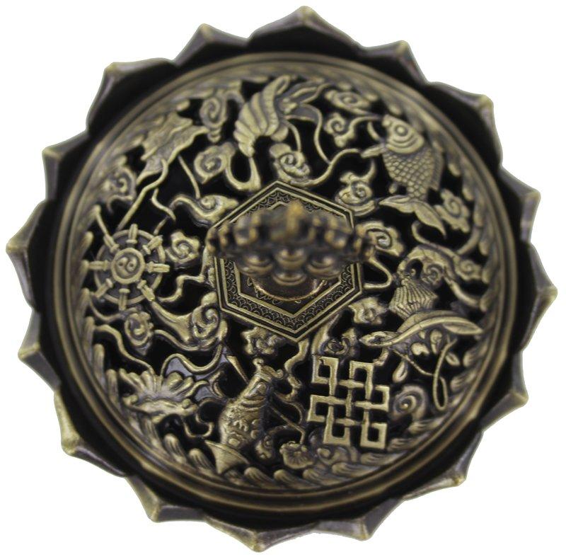 Shou Hu Shen Eight Auspicious Symbols Of Good Fortune Talisman