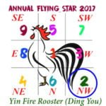 2017 Flying Star Chart #2 Star