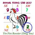 2017 Flying Star Chart #2 Star