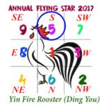 2017 Flying Star Chart #5 Star