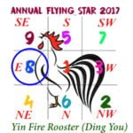 2017 Flying Star Chart #8 Star