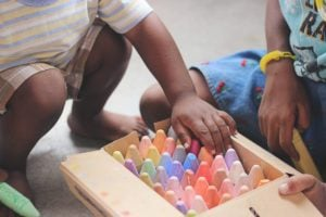 colours in children's room